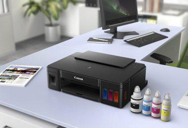 Canon lança linha de impressoras com tinta recarregável