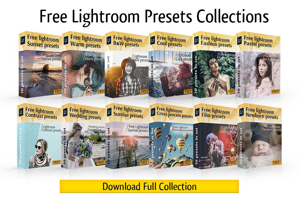 30 coleções grátis de presets do Lightroom para fotógrafos | iPhoto