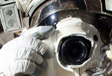 O astronauta que esqueceu o cartão de memória da GoPro na Terra