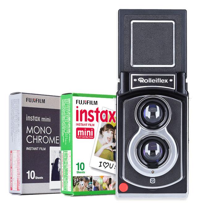 2a9ad1381 Rollei lança versão instantânea da icônica câmera Rolleiflex ...