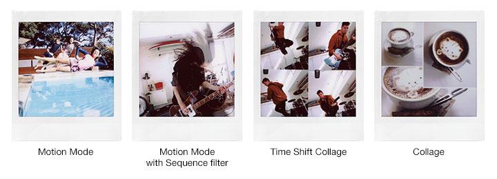 a15c4eaac6345 ... existem modos diferentes de filtros que podem ser aplicados a fotos e  vídeos. O Instax SQ10 possui 10 desses filtros